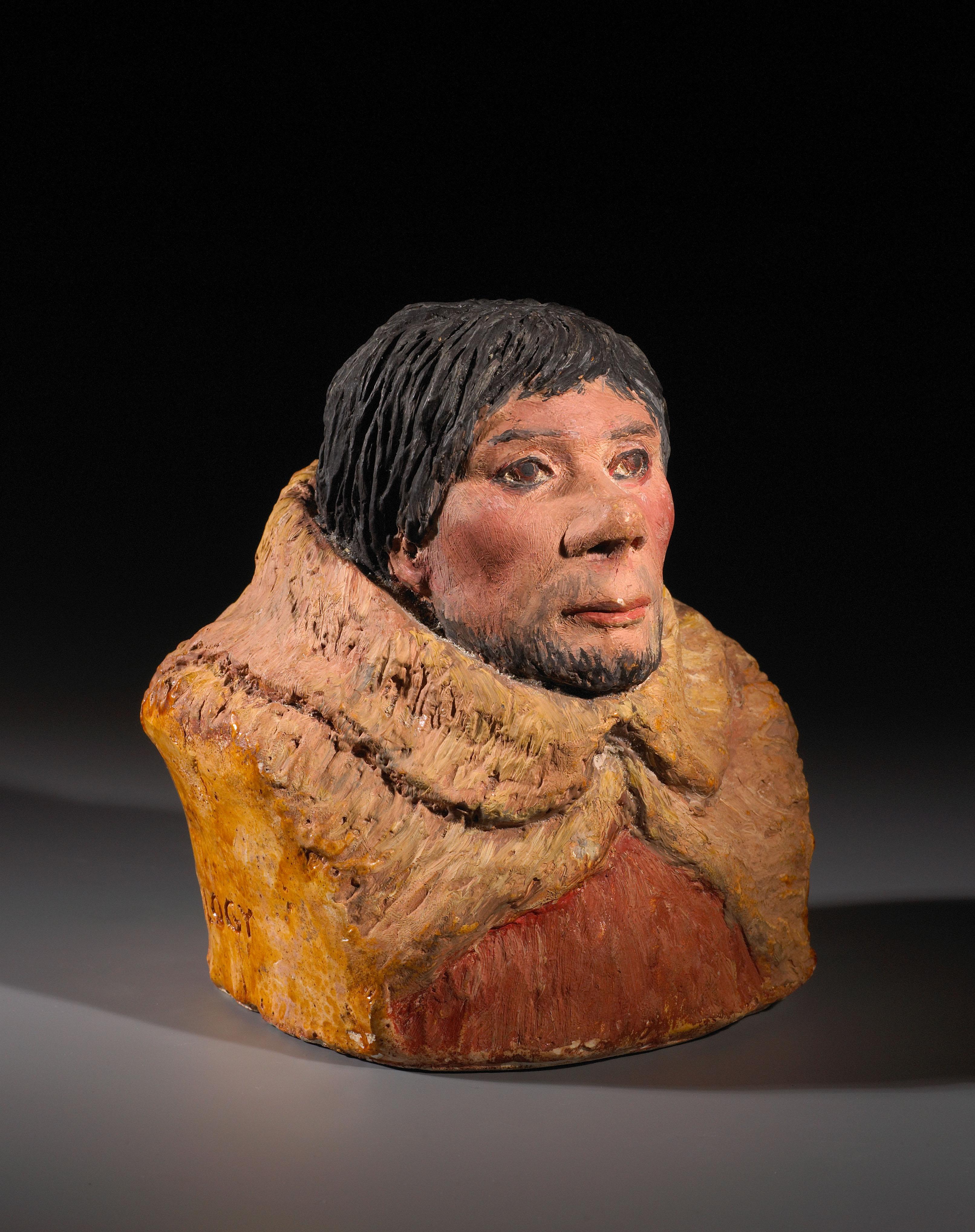 Le buste de l'homme d'Angles - MAN 86628-1
