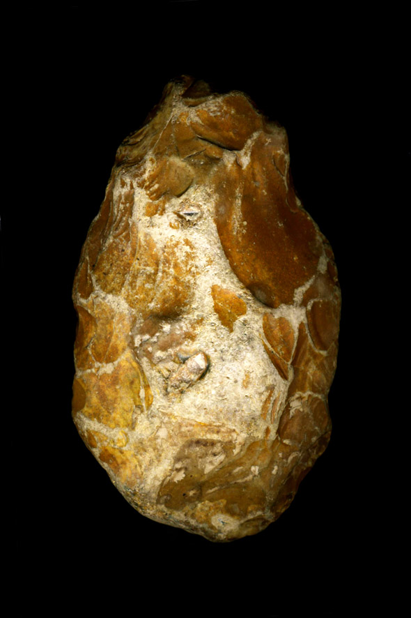 Biface acheuléen - Paléolithique - Abbeville (Somme)
