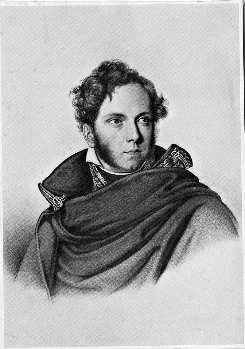 Portrait de Jacques Boucher de Perthes