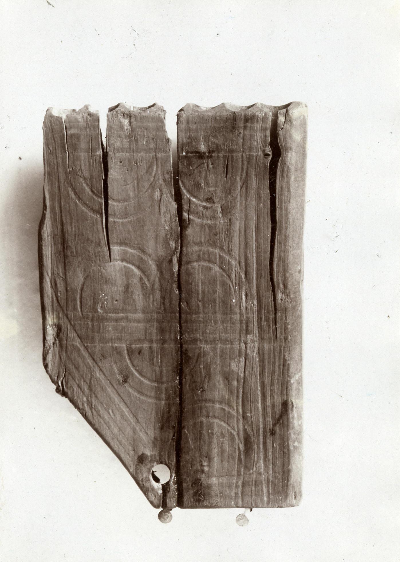 La flûte de Pan d'Alesia, buis, avant restauration. Fin IIe s. – début IIIe s. apr. J.-C. Musée d'Alise-Sainte-Reine