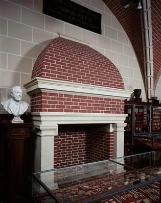 Salle Piette d'après la présentation muséographique du début du 20e siècle
