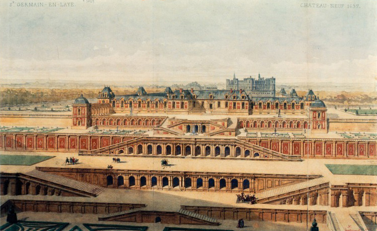 Le Château-Neuf de Saint-Germain-en-Laye. 1637. Guillaumot père.