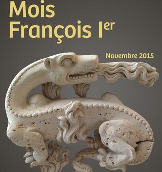 Affiche du mois François Ier avec la salamandre