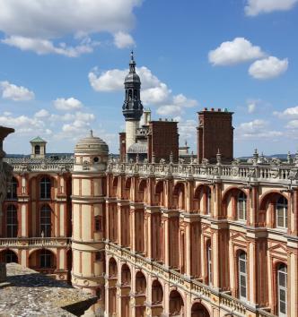 Les toits du château de Saint-Germain-en-Laye