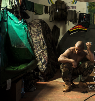 Exposition Dans la peau d'un soldat - Musée de l'Armée