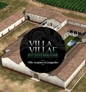 Reproduction en 3D de la villa Loupian