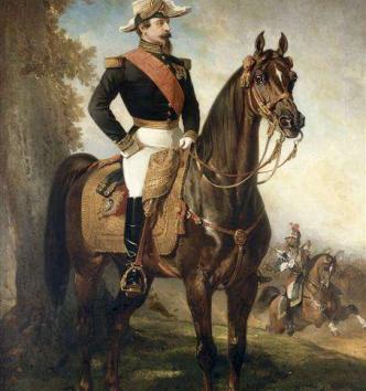 Portrait équestre de Napoléon III