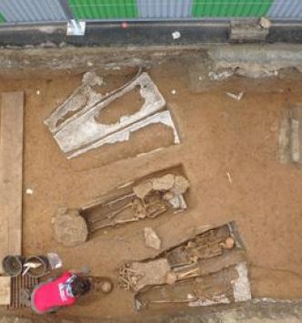 Fouille de la nécropole des Martraits (Seine saint Denis)