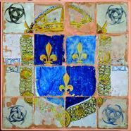 Pavement de Masséot - Céramique - Henri II