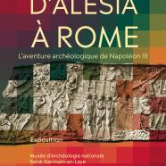 """Affiche de l'exposition d'Alésia à Rome"""""""