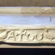 Table d'autel - Ve ou VIe siècle Saint-Marcel-de-Crussol - Marbre