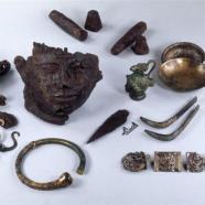 Mobilier funéraire d'une sépulture d'officier romain
