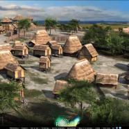 Le village gaulois d'Acy-Romance