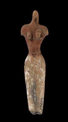Figurine féminine en terre cuite