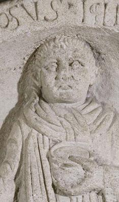 Stèle funéraire d'Apinosus Iclius