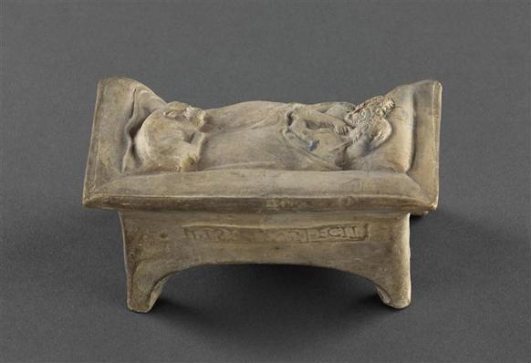 Couple sur un lit dit les Amants de Bordeaux